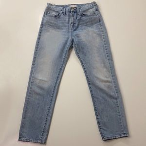 Madewell Perfect Summer Fit High-Waisted Jeans